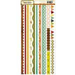 Crate Paper - Farmhouse Collection - Cardstock Stickers - Borders