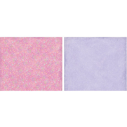 Crate Paper - Katlin Collection - 12x12 Double Sided Paper - Bubblegum, CLEARANCE