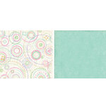 Crate Paper - Katlin Collection - 12x12 Double Sided Paper - Bubbly