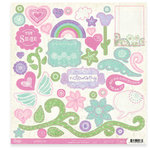 Crate Paper - Katlin Collection - 12x12 Impression Die-Cuts