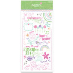 Crate Paper - Katlin Collection - Rub-ons, CLEARANCE