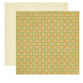 Crate Paper - Lemon Grass Collection - 12 x 12 Double Sided Textured Paper - Orchard, CLEARANCE