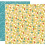 Crate Paper - Lillian Collection - 12 x 12 Double Sided Textured Paper - Blissful, CLEARANCE