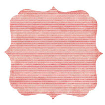 Crate Paper - Lillian Collection - 12 x 12 Die Cut Paper - Tickled Pink