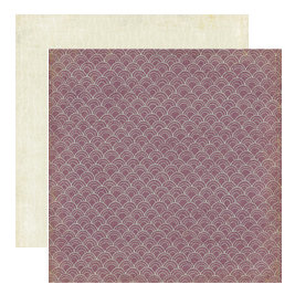 Crate Paper - Mia Collection - 12 x 12 Double Sided Textured Paper - Stack, CLEARANCE
