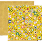 Crate Paper - Neighborhood Collection - 12 x 12 Double Sided Paper - Garden