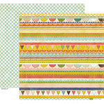 Crate Paper - Neighborhood Collection - 12 x 12 Double Sided Paper - Picnic