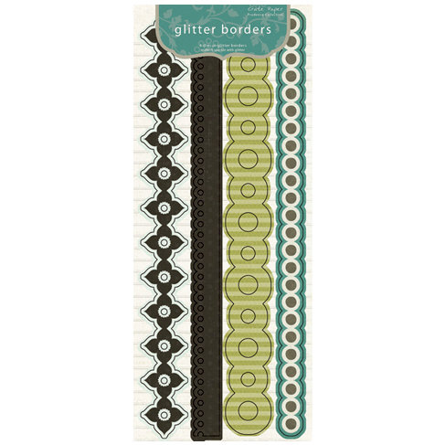 Crate Paper - Prudence Collection - Glitter Borders