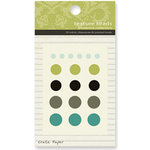 Crate Paper - Prudence Collection - Texture Brads, CLEARANCE