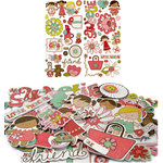 Crate Paper - Paper Doll Collection - Chipboard Stickers - Accents