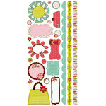 Crate Paper - Paper Doll Collection - Cardstock Stickers - Journal, CLEARANCE