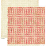 Crate Paper - Peppermint Collection - Christmas - 12 x 12 Double Sided Paper - Candy Cane