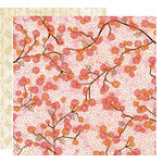 Crate Paper - Pink Plum Collection - 12 x 12 Double Sided Paper - Very Berry