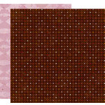 Crate Paper - Pink Plum Collection - 12 x 12 Double Sided Paper - Wildberries, CLEARANCE