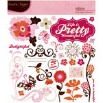 Crate Paper - Pink Plum Collection - Rub Ons, CLEARANCE