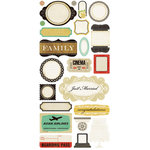 Crate Paper - Portrait Collection - Cardstock Stickers - Phrase