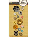 Crate Paper - Portrait Collection - Eclectic Buttons