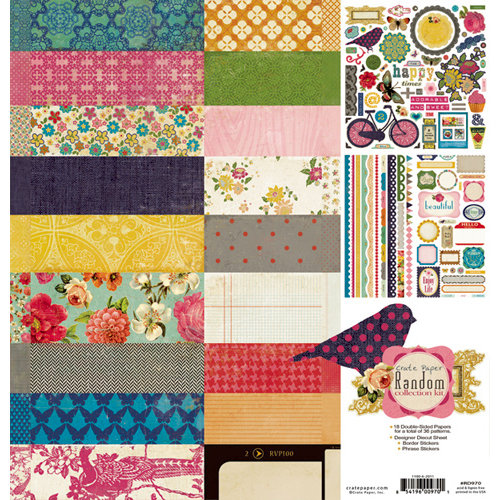 Crate Paper - Random Collection Kit
