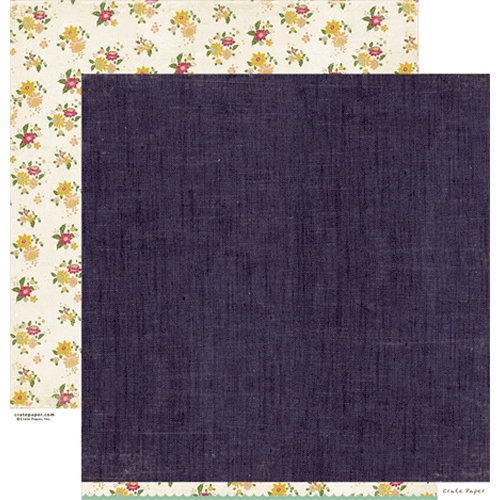 Crate Paper - Random Collection - 12 x 12 Double Sided Paper - Denim