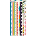 Crate Paper - Random Collection - Cardstock Stickers - Borders