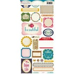 Crate Paper - Random Collection - Cardstock Stickers - Phrase