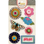 American Crafts - Crate Paper - Random Collection - 3 Dimensional Stickers - Stand Outs