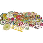 Crate Paper - Restoration Collection - Chipboard Stickers - Accents