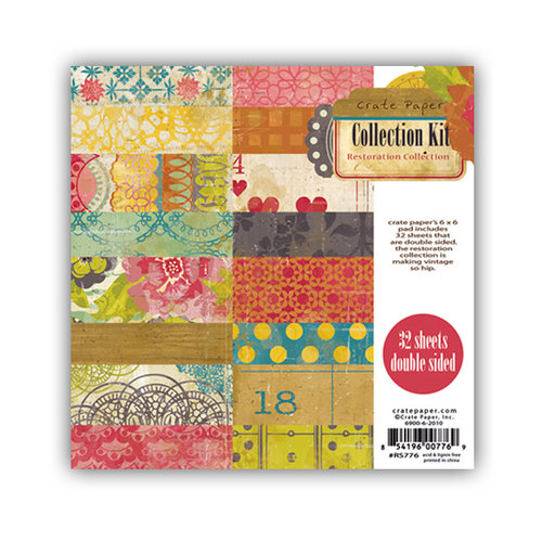 Crate Paper - Restoration Collection - 6 x 6 Paper Pad