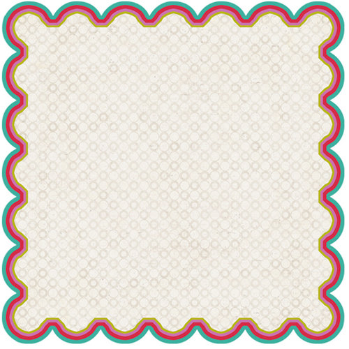 Crate Paper - Snow Day Collection - Christmas - 12 x 12 Die Cut Paper - Bunny Hill