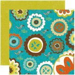 Crate Paper - Season Collection - 12 x 12 Double Sided Paper - Summer, BRAND NEW