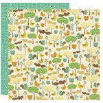 Crate Paper - Little Sprout Collection - 12 x 12 Double Sided Textured Paper - Frolic