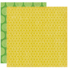 Crate Paper - Little Sprout Collection - 12 x 12 Double Sided Textured Paper - Sunshine, CLEARANCE