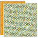 Crate Paper - Little Sprout Collection - 12 x 12 Double Sided Textured Paper - Meadow, CLEARANCE
