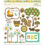 Crate Paper - Little Sprout Collection - Design Rub Ons, CLEARANCE