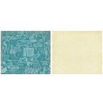 Crate Paper - Static Collection - 12x12 Double Sided Paper - Voltage, CLEARANCE