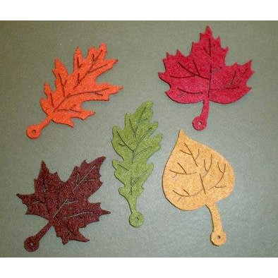 Creative Impressions - Felt Shapes - Autumn Leaves