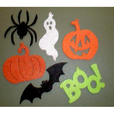 Creative Impressions - Felt Shapes - Halloween