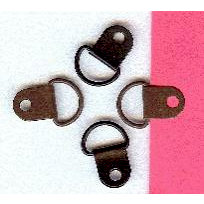 Creative Impressions - Metal Loops - Round - Brown and Black