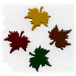 Creative Impressions - Brads - Maple Leaf - Fall