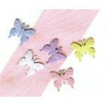 Creative Impressions - Brads - Butterfly - Soft