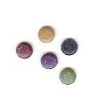 Creative Impressions - Glimmer Brads - Round - Heritage