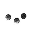 Creative Impressions - Glimmer Brads - Round - Black