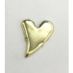 Creative Impressions - Brads - Gold Curved Heart