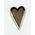 Creative Impressions - Brads - Country Heart - Pewter