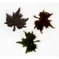 Creative Impressions - Brads - Maple Leaf - Copper, Gold, Silver