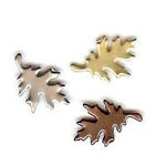 Creative Impressions - Brads - Oak Leaf - Antique