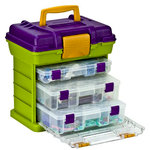 Creative Options - Vineyard Collection - Grab 'N Go Organizer - 3-By Rack System - Medium