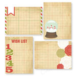 Chic Tags - Christmas - Delightful Paper Tags - Frosty Cards - Set of 4