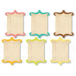 Chic Tags - Delightful Paper Tags - Soak Up The Sun Bracket Cards - Set of 6