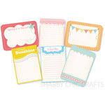 Chic Tags - Delightful Paper Tags - Spring Artist Trading Cards  - Set of 6